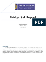 Bridge Set Report