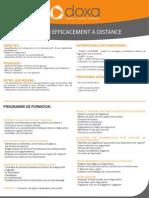 CDIST - Négocier efficacement à distance