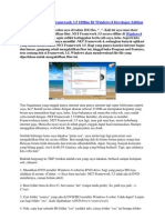 Mengaktifkan Net Fx 35 Win8