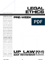 UP Solid2010 Legal Ethics Pre-Week