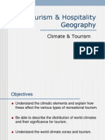 Climate and Tourism