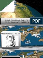 Hume e os Problemas da Existência do Eu, do Mundo Exterior e de Deus