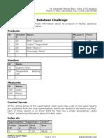 8. Database Challenge