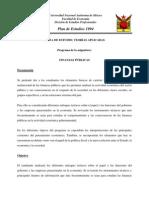 0628 Finanzas Publicas