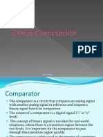 CMOS COMPARATOR PPT