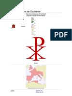 Imperio Romano de Occidente. CAIDA