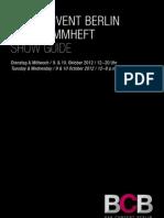 Bar Convent Berlin 2012 // Show Guide // Programmheft