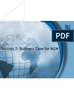 02 Business Case for M2M M2M Training