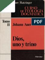 Auer, Johann - Dios Uno y Trino