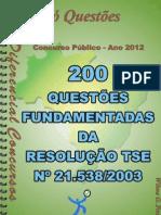 1700_RES.-tse 21.538_2003 - Apostila Amostra