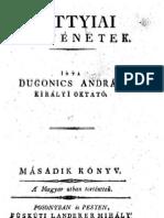 Dugonics András - Szkítiai történetek 2.kötet 1808.