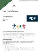Family Relationship « Evolving Relations