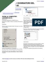 Guida al Computer - Lezione 65 - Il Sistema Operativo