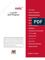 PJD6221 User Guide English