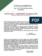 Notizie Piano Jazz...e Dintorni 2a Ed 2012