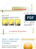 TD 3 La productivité (version non  corrigée)