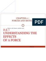 2.5 Understanding the Effects of a Force