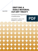 Verifying a Fissile Material Cut-off Treaty
