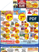 Friedman's Freshmarkets - Weekly Specials - September 6 - 12, 2012