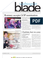Washingtonblade.com - Volume 43, Issue 34 - August 24, 2012