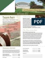 Hannibal Country Club September Newsletter