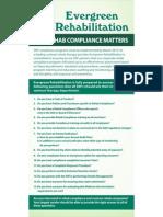 Evergreen Rehabilitation