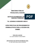 Guia para Procedimientos Criminalísticos MP