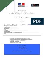Fiche d'Inscription Formation a de La Colina- Olarieta