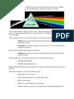 Colour Fundamentals