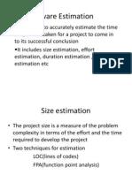 Software Estimation Ch-2