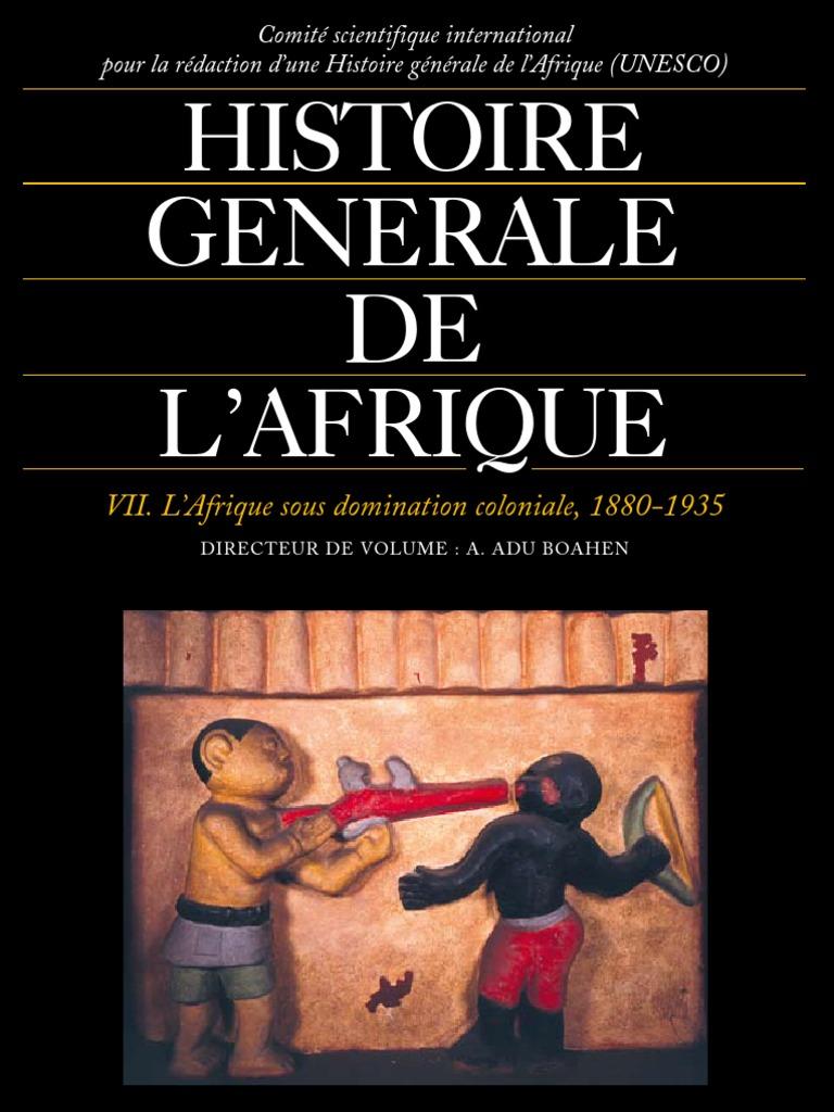 Histoire Colonialisme Afrique Sous Domination Coloniale 12 12 ...
