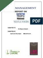 30801788 Nestle Report