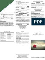 Bulletin - 20120826