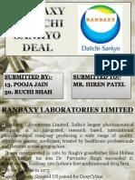 Ranbaxy+ +Daiichi+Sankyo+Deal
