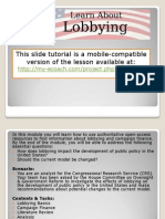 Lobbying Tutorial