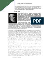 Teori dan Tokoh Psikologi