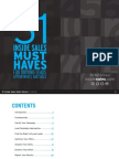 31 Inside Sales 'Must Haves' for Driving Leads, Appointments & Sales
