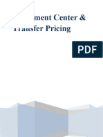 Investment Center and Transfer Pricing