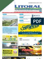 Jornal DoLitoral Paranaense - Edição 190 - Online - agosto 2012