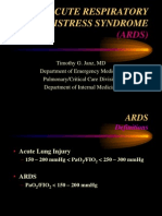 ACUTE RESPIRATORY DISTRESS SYNDROME(ARDS)