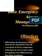 Basic Emergency Airway Management