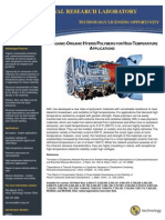 Inorganic-Organic Hybrid Polymers for High Temperature Applications