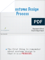 Costume Design Process