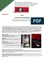 Angell Entrevista Revista Epoca Outubro 2005