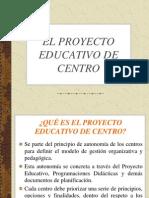 Tema 5- El Proyecto Educativo de Centro