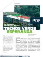Techos Verde Experanza instalacion de cubierta vegetal