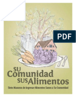 Su Comunidad, Sus Alimentos