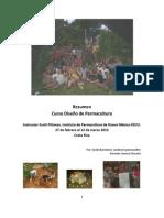 Resumen Curso Diseño de Permacultura