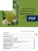 Proyecto De Agroecología Cantagaia