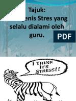 Tajuk-Jenis-jenis Stres Dialami Oleh Guru